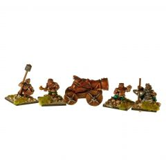 DWF201 Dwarven Cannon and Crew