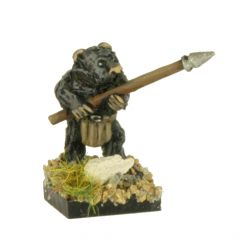 FAB102 Bear Infantry with Spears