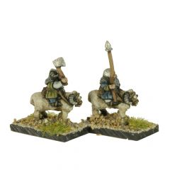 FDW401 Dwarven Light Cavalry on Rams