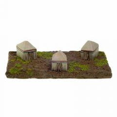 BT16 15mm Egyptian or Biblical Tents (two freestanding individual tents, no base)