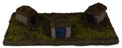 BT17 15mm Persian or Tribal Tents (two freestanding tents, no base)
