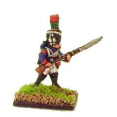 FR602 French Chasseurs a Pied, advancing