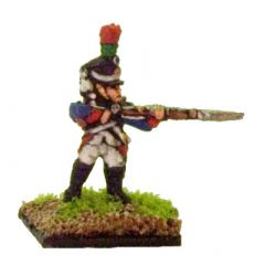 FR607 French Fusiliers Chasseurs, firing