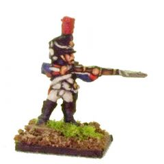 FR608 French Fusiliers Grenadiers, firing