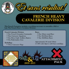 ESR XXML FR002 French Heavy Cavalerie Division (Mid-Late War) Attachment Pack