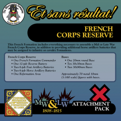 ESR XXML FR003 French Corps Reserve (Mid-Late War) Attachment Pack