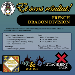 ESR XXML FR005 French Dragon Division (Mid-Late War) Attachment Pack