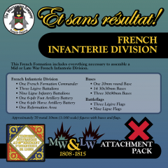ESR XXML FR004 French Infanterie Division (Mid-Late War) Attachment Pack