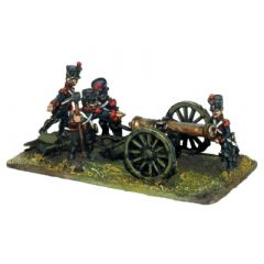 FRN29 French howitzer on 12 Pdr Gun Carriage