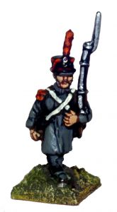 FRN39 French Flank Company, march attack