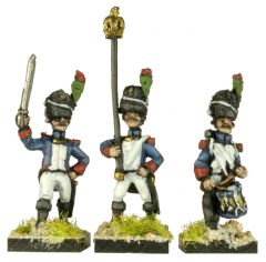 FRN72 Old / Middle Guard Chasseurs a Pied Command