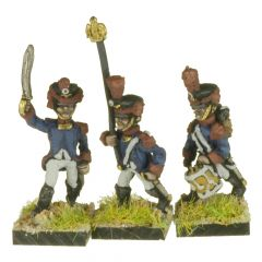 FRN81 Young Guard, Tirailleurs Command