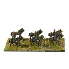 FRN91 French Guard Horse Artillery Horse Team