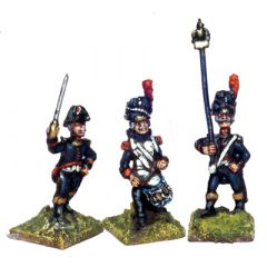 FRN9 French Old Guard Grenadier a Pied Command