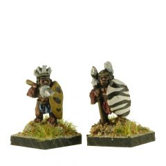 FTW101 Tribal Warriors with Spears