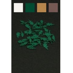 GL-055-GN Oak leaves, green