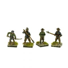 GR1 English Civil War Gunners x8