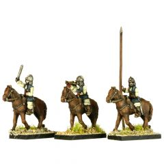 GR10 English Civil War Cavalry Command in Helmet x4