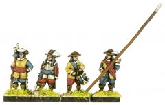 GR2 English Civil War Foot Command x8