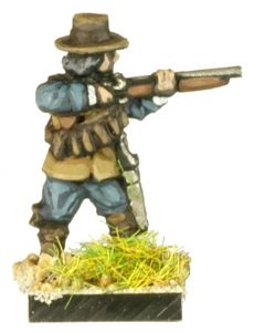 GR6 English Civil War dismounted Dragoon firing x8
