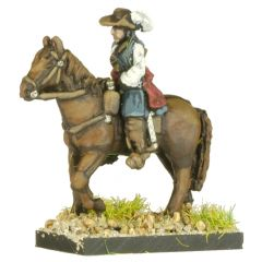 GR7 English Civil War Cavalry in Hat x4