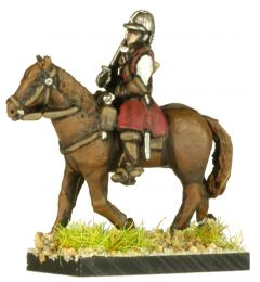 GR9 English Civil War Cavalry in Helmet x4