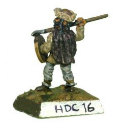 HDC16 Han Dynasty Chinese Tribal Infantry with Shields and Javelins
