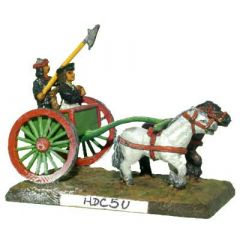 HDC5 Two-horse Chinese Chariot