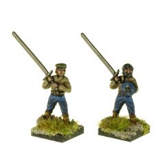HL12 Two-handed Swordsmen, cutting