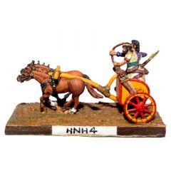 HNH4 Syrian two horse Chariot with driver, spear and bowmen