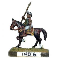 IND6 Indian Cavalry, Shield and Javelin