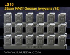 LS10 German WW2 Jerry Cans