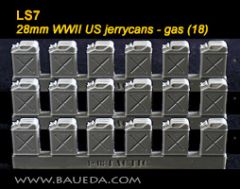 LS7 US WW2 Jerry Cans