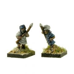 MK107 Dervishes with Spears