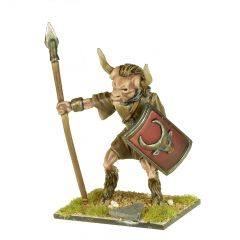 MT5 Minotaur with Sword, Spear and Shield