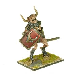 MT6 Minotaur with Sword and Large Shield