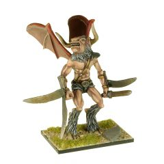 MT9 Flying Minotaur with Arm Blades and Sword