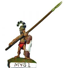 MYG1 Spearmen with Tower Shield