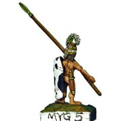 MYG2 Spearmen with figure-of-eight Shield