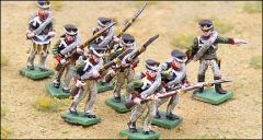 GHQ NAP43 Russian Line Infantry