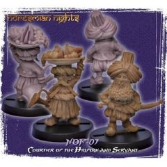 NOR-07 Courtier of the Hillfolk and Servant (2)