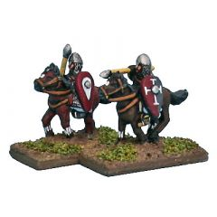 NOR3 Armoured Border Riders or Breton Knights on ponies