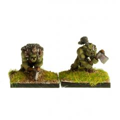 ORC15 Wild Orcs with Axe