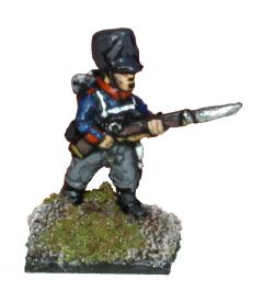 PN101a Prussian Fusiliers, advancing