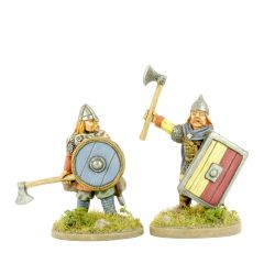 RS12 Rus or Eastern Viking Warrior with Hand Weapon