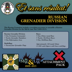 ESR XXML RU008 Russian Grenadier Division (Mid-Late War) Attachment Pack