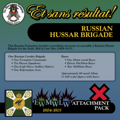 ESR-XXML-RU004 Russian Hussar Brigade (Mid-Late War) Attachment Pack