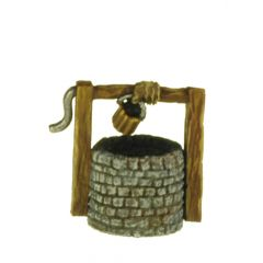 SC18 Well, stone wall surround and bucket winder x2