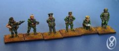 SF 1513 NVL (New Vistula Legion) Command Characters x6