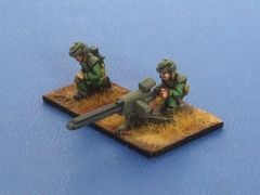SF 1518 NVL (New Vistula Legion) troopers x4 with Rail Guns x2